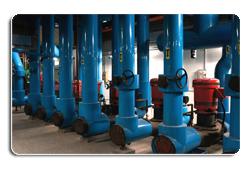 Closed chilled water systems